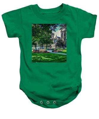 Summer In Juckett Park Baby Onesie