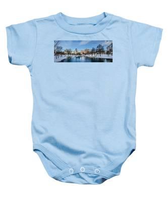 Charlotte Downtown Baby Onesie