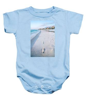 Florida Beach Scene Baby Onesie