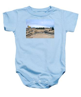 Jerusalem The Western Wall Baby Onesie