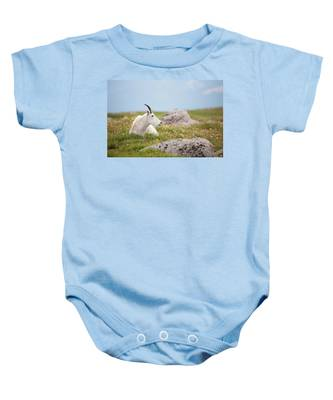 Lie Down In Green Pastures Baby Onesie