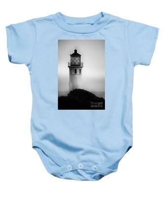 Pointe Vincente Lighthouse Baby Onesie