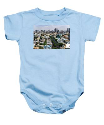 season change at Rothschild boulevard  Baby Onesie