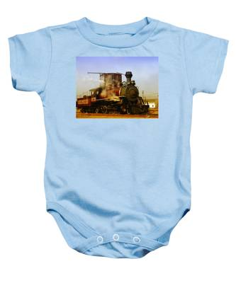 Skunk Train Baby Onesie