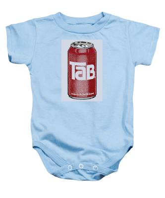 Tab Ode To Andy Warhol Baby Onesie