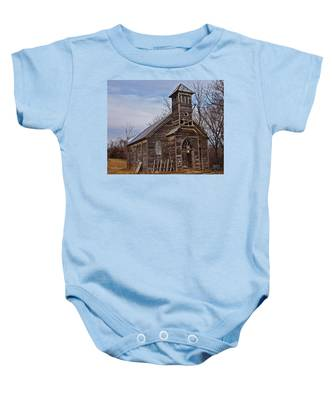 Abandoned Church Baby Onesie