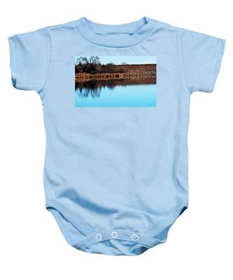 Winter Walk Baby Onesie