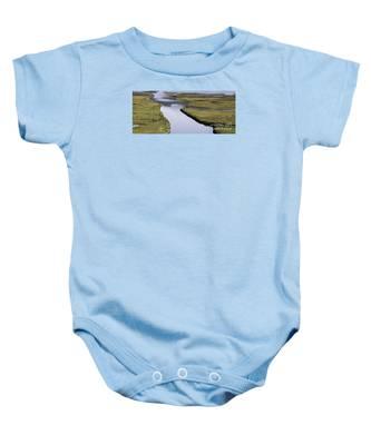Tomales Marsh Baby Onesie