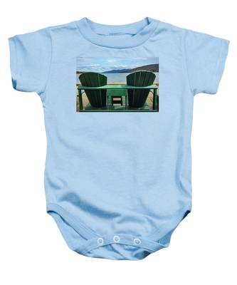Adirondack Chair For Two Baby Onesie