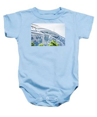 April 2017 Arlington Texas Att Nfl Cowboys Football Stadium  Baby Onesie