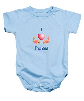 Azure Waters By V.kelly Baby Onesie