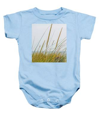 Beach Grass Baby Onesie