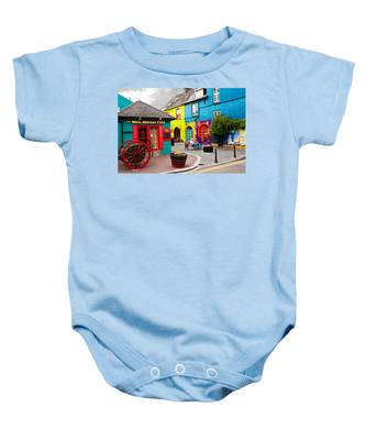 Colorful Corner Baby Onesie