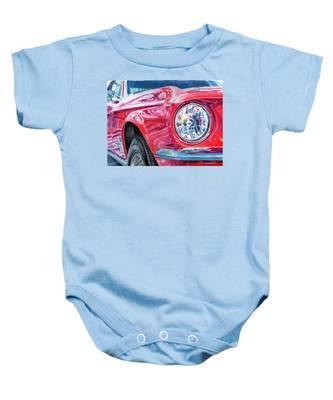 Ford Mustang Baby Onesie