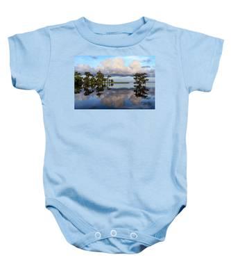 Lake Mirror Baby Onesie