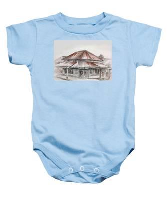Marsh's Corner Store Baby Onesie