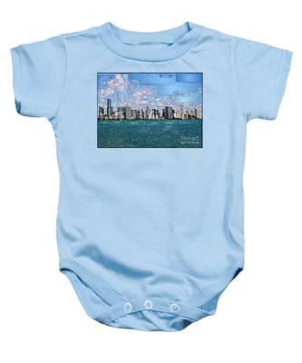 Miami, Florida Baby Onesie
