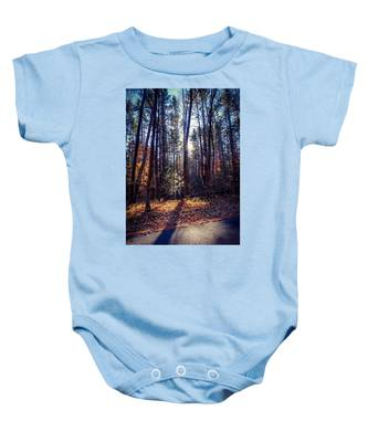 November Light Baby Onesie