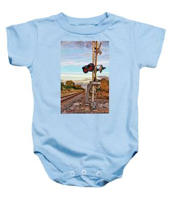 On Down The Line 3 Baby Onesie