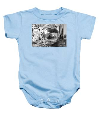 Reflections On A Self Portrait Baby Onesie