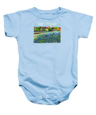 Texas Hill Country Baby Onesies