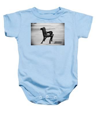 The Pier Bench Baby Onesie