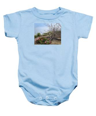 Two Stories Baby Onesie