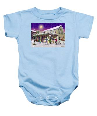 Zebs General Store In North Conway New Hampshire Baby Onesie