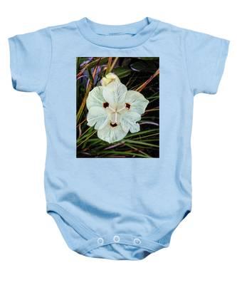 Caribbean Wildflower Baby Onesie