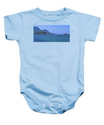 Coast Of Gramvousa Baby Onesie