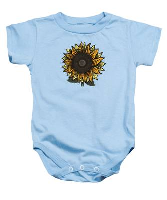 Sunflower Baby Onesies
