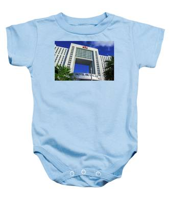 Hotel Riu Palace In Cancun Baby Onesie
