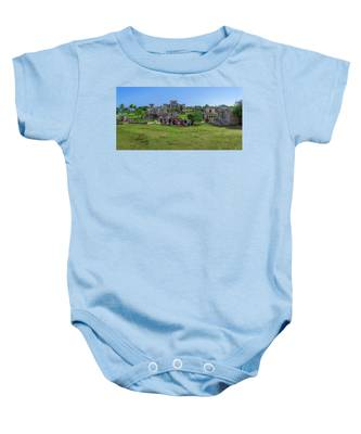 In The Footsteps Of The Maya Baby Onesie
