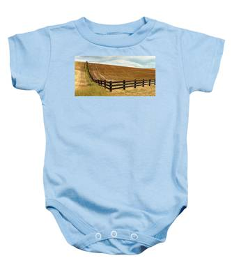 Property Lines Baby Onesie