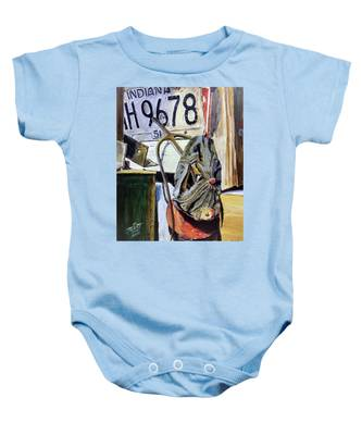 Self Portrait Baby Onesie
