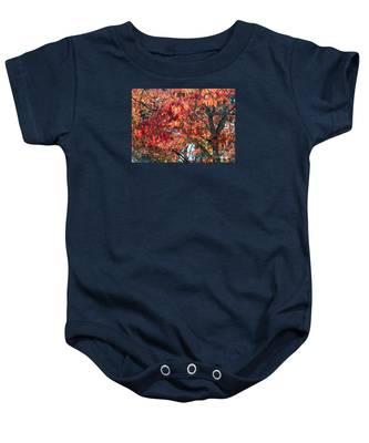 Autumn Leaves Baby Onesie