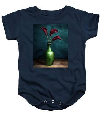 Calla Lilies I Baby Onesie