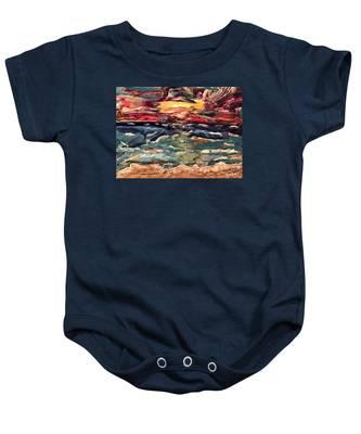 Capricious Sea Baby Onesie