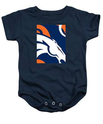 Denver Broncos Football Baby Onesie