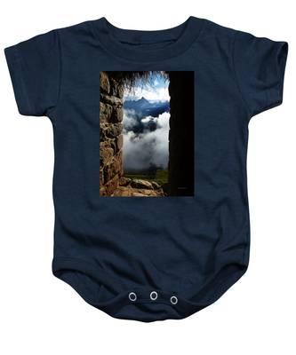 Machu Picchu Peru 4 Baby Onesie