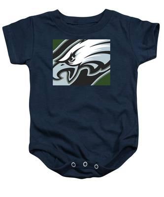 Philadelphia Eagles Football Baby Onesie