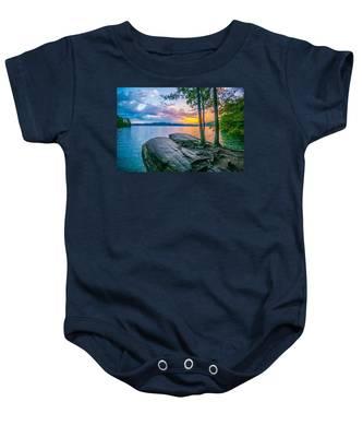 Scenery Around Lake Jocasse Gorge Baby Onesie