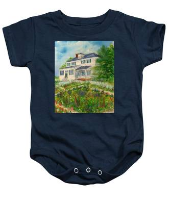 Spring In Colonial Williamsburg- Cole House Baby Onesie