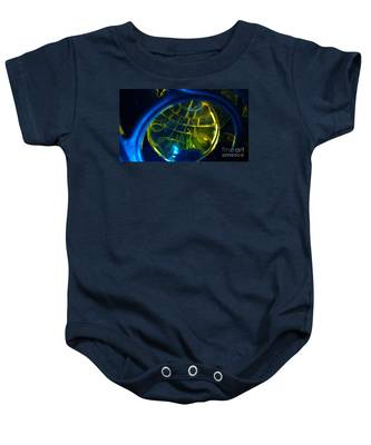 Ball Of Color Baby Onesie