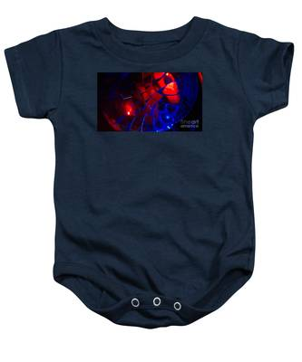 Ball Of Color - Red Baby Onesie