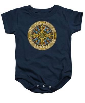Celtic Compass Baby Onesie