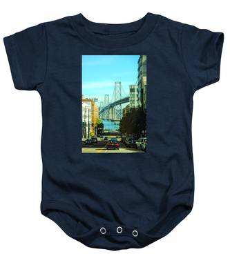 San Francisco Street Baby Onesie