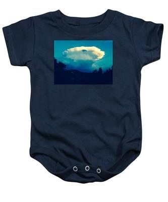 Storm Over Santa Fe Baby Onesie