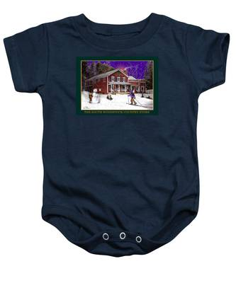 The South Woodstock Country Store Baby Onesie