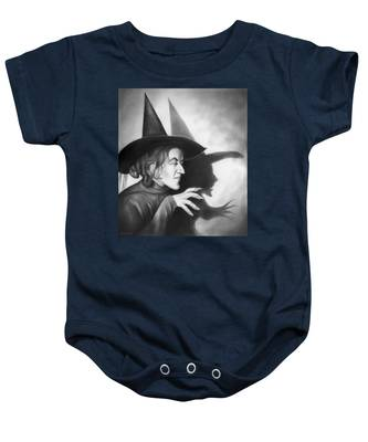Wicked Witch Of The West Baby Onesie